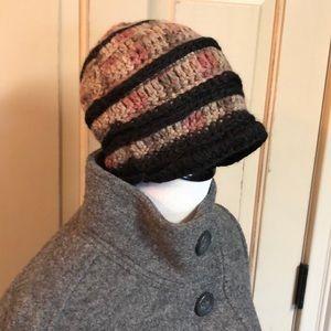 Chunky Hand Knit Soft Angora Beanie